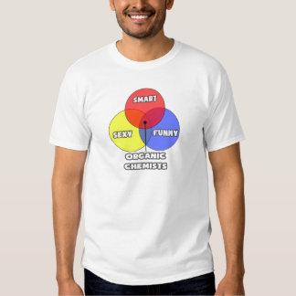 Venn Diagram .. Organic Chemists Tshirts