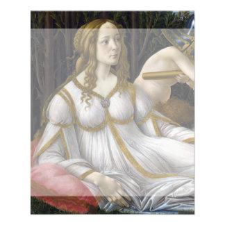 Venus and Mars by Sandro Botticelli 11.5 Cm X 14 Cm Flyer