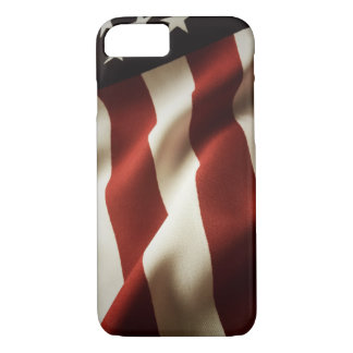 Vertical American flag iPhone 7 Case