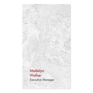 Vertical elegant unique modern grey wall texture pack of standard business cards