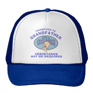 Very Funny New Grandson New Grandfather Cap