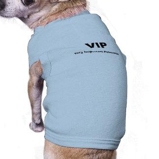 """Very Important Pomeranian"" Dog Shirt"