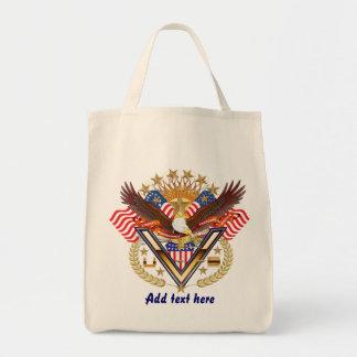 Veteran Friend or Family Member See Notes Plse Grocery Tote Bag