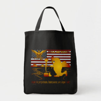 Veteran Vale of Tears Remembrance Grocery Tote Bag