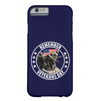 Veterans Day Barely There iPhone 6 Case