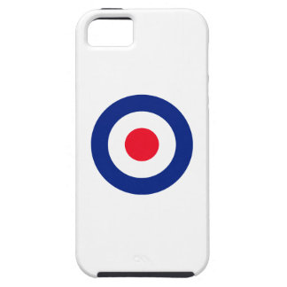 Vibrant Roundel MOD Classic Target Case For The iPhone 5