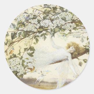 Victorian Faerie Sticker - Baby Fae