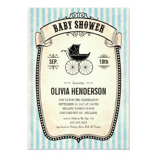 Victorian Vintage Boy Baby Shower Invitations