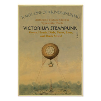 Victorium Steampunk Pack Of Chubby Business Cards