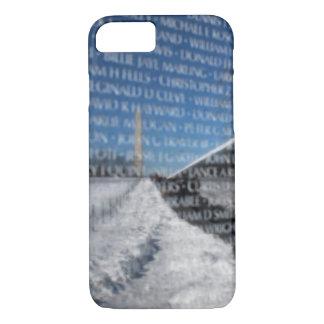 Vietnam Memorial Wall During Winter iPhone 7 Case