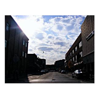 View Downtown Street Mt. Clemens, MICHIGAN USA Postcard