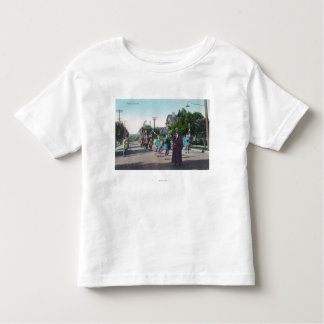 View of a Floral ParadeHollister, CA T Shirt
