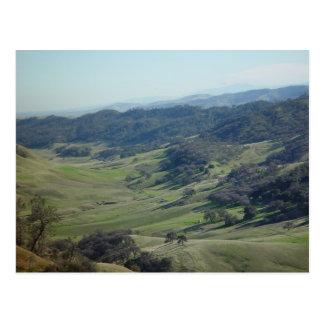 View of Black Diamond Mines Postcard