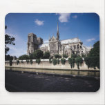 View of the Cathedral from the Seine, 1163-1345 Mouse Pad
