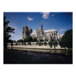 View of the Cathedral from the Seine, 1163-1345 Poster