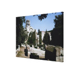 View of the Church of Saint-Honoratus Canvas Prints