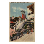 View of the Mission Inn & Oriental Court Poster