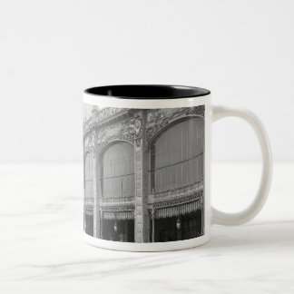View of the Palais des Beaux-arts Two-Tone Mug