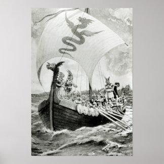 Viking Raiders Poster