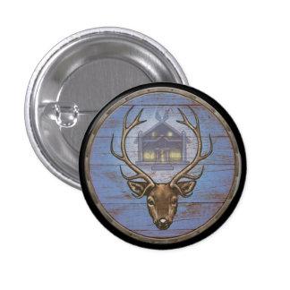 Viking Shield Button - Eikþyrnir