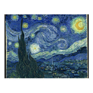 Vincent Van Gogh The Starry Night Postcard