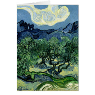 Vincent van Gogh's Olive Trees (1889) Greeting Card