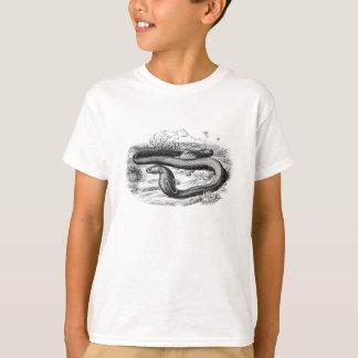 Vintage 1800s Cobra Snake Retro Cobras Drawing Tshirt
