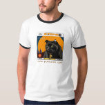 Vintage 50's Album Design Of Alley Cat Song Tshirt