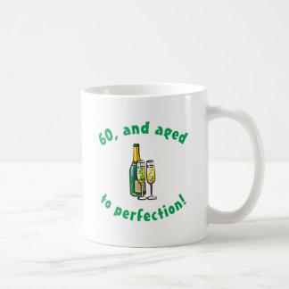 Vintage 60th Birthday Gift Basic White Mug