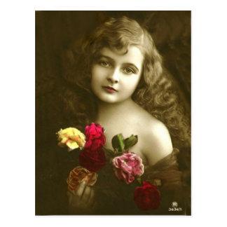 Vintage 9 postcard