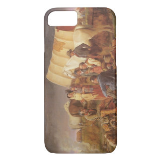 Vintage American West, Advice on Prairie by Ranney iPhone 7 Case