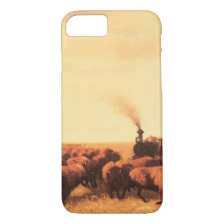 Vintage American West, Held Up by NH Trotter iPhone 7 Case