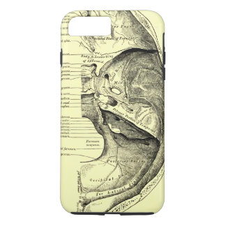 Vintage Anatomy | Base of the skull Inner surface iPhone 7 Plus Case