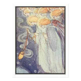 Vintage Angels by Florence Harrison Postcard