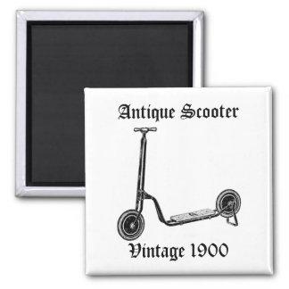Vintage Antique 1900 Scooter Fridge Magnet
