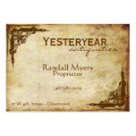 Vintage Antiques Victorian Pack Of Chubby Business Cards