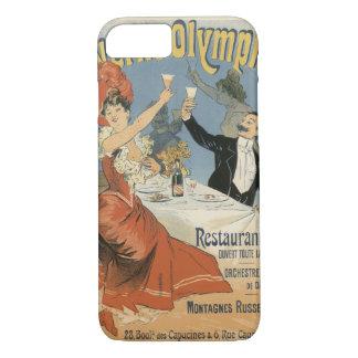 Vintage Art Nouveau, Taverne Olympia, Drinks Party iPhone 7 Case