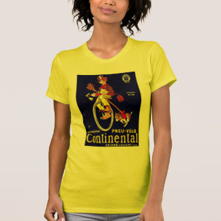 Vintage Bicycle Ad: Continental Tee Shirt