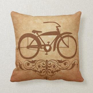 Vintage Bicycle Pillow Cushion