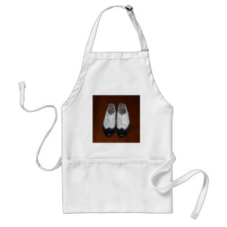 Vintage Black and Whites - Dance Shoes Standard Apron