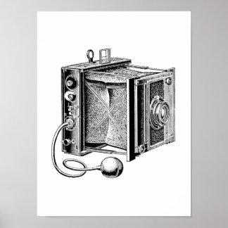 Vintage Camera - Antique Cameras Photography Poster