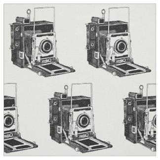 Vintage Camera Fabric