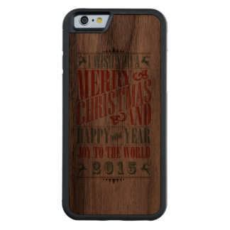 Vintage Christmas & NewYear iPhone 6 Case
