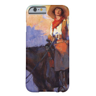 Vintage Cowboys, Man and Woman on Horses, Anderson Barely There iPhone 6 Case