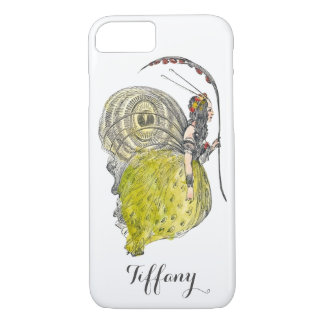 Vintage Cute Fantasy Butterfly Fairy with Wings iPhone 7 Case