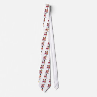 Vintage Dressed Up Ducks Tie
