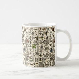 Vintage Entomology Basic White Mug