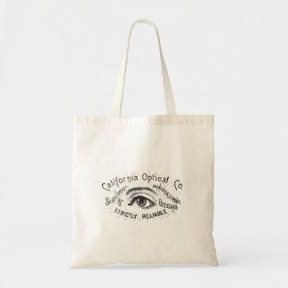 Vintage Eye Ephemera Budget Tote Bag