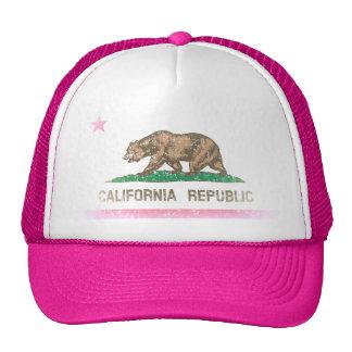 Vintage Fade California Republic Flag Cap