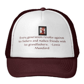 Vintage Father's Day Grandfather hat with quote